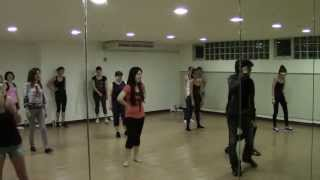 Akhiyan Mila --- Bollywood Dance class with Master Govind on 13 Jun 13