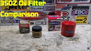 homepage tile video photo for Nissan 350Z Upgraded Oil Filter