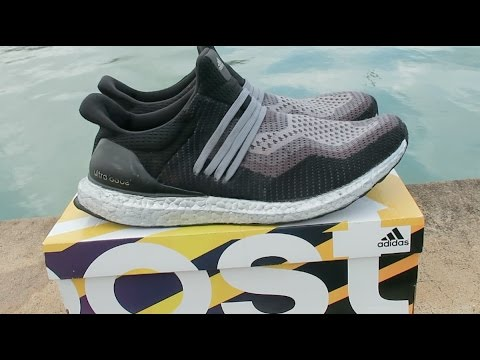 4850a4b4ea105 Sharpie Custom)-Uncaged HumanRace Silver Ultra Boost - YouTube