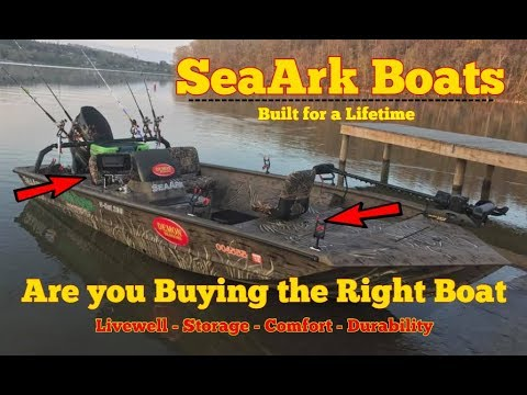 SeaArk Boats - Buying The Right Boat To Match Your Fishing Needs !