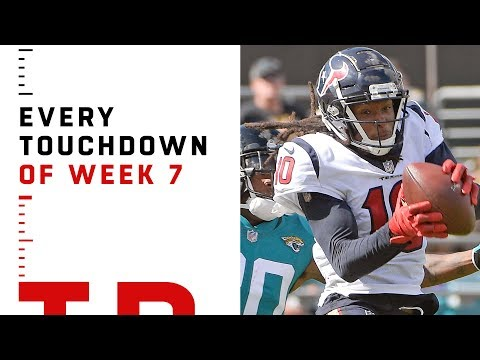 Every Touchdown from Week 7 | NFL 2018 Highlights