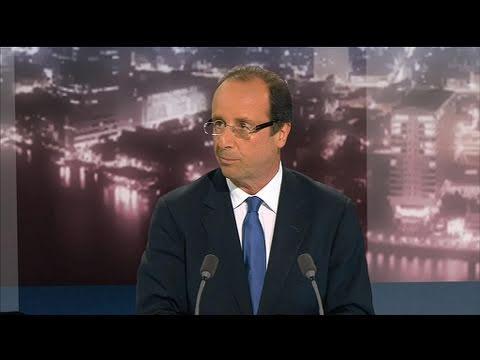 BFMTV 2012 - Interview de François Hollande par Olivier Mazerolle