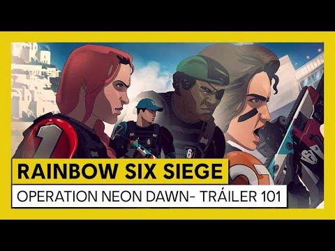Tom Clancy's Rainbow Six Siege - Neon Dawn - Tráiler 101