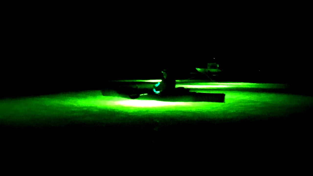 Night fishing kayak challenge youtube for Kayak lights for night fishing