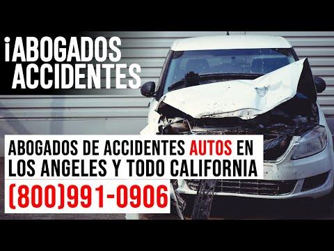 Abogados de Accidentes de Autos y Lesiones en Los Angeles y todo California
