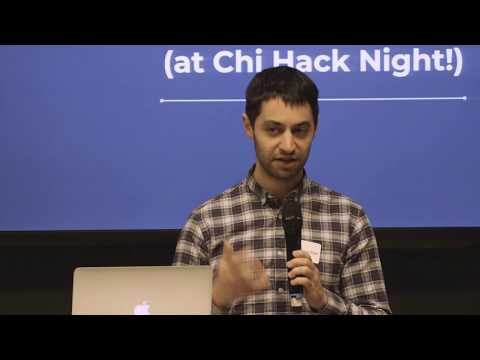 Yonatan Kogan, Building an app for the immigrant community (at Chi Hack Night!)