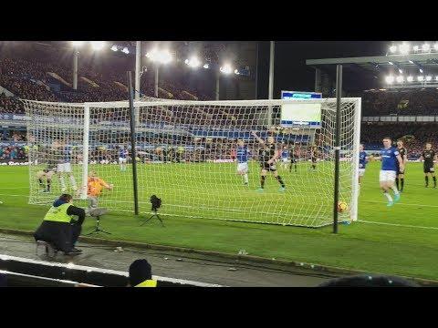 31st January 2018 Everton vs Leicester City (2-1)