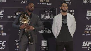 UFC 247: Media Day Faceoffs