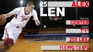 Official Highlights 2013 NBA Draft | Alex Len - Maryland | ACCDigitalNetwork