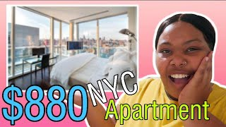 What You Get For $880 in NYC?! | NYC Room Tour