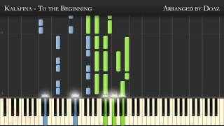 (Synthesia Piano) To the Beginning, Fate/Zero OP 2