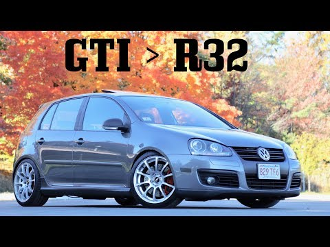 Why The Mk5 GTI is better than the Mk5 R32