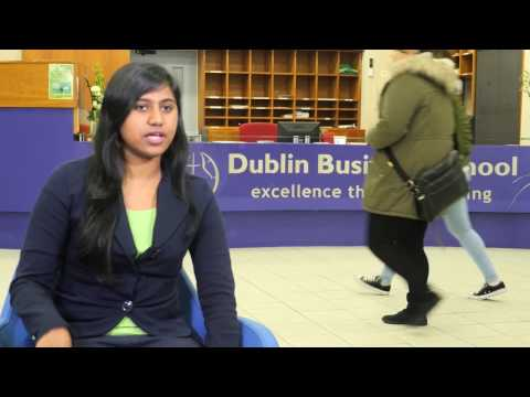 MBA at DBS   Varsha Ann Jacob