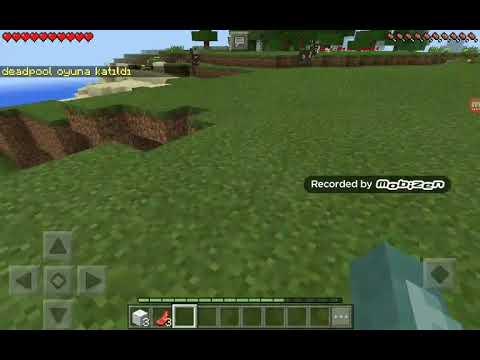 Minecraft survival serisi bölüm #1