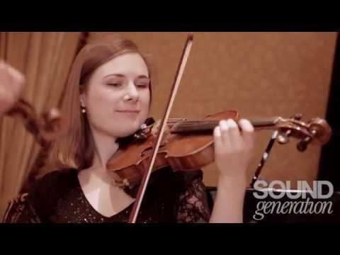 ESQ String Quartet | Sound Generation | London & UK Weddings & Events