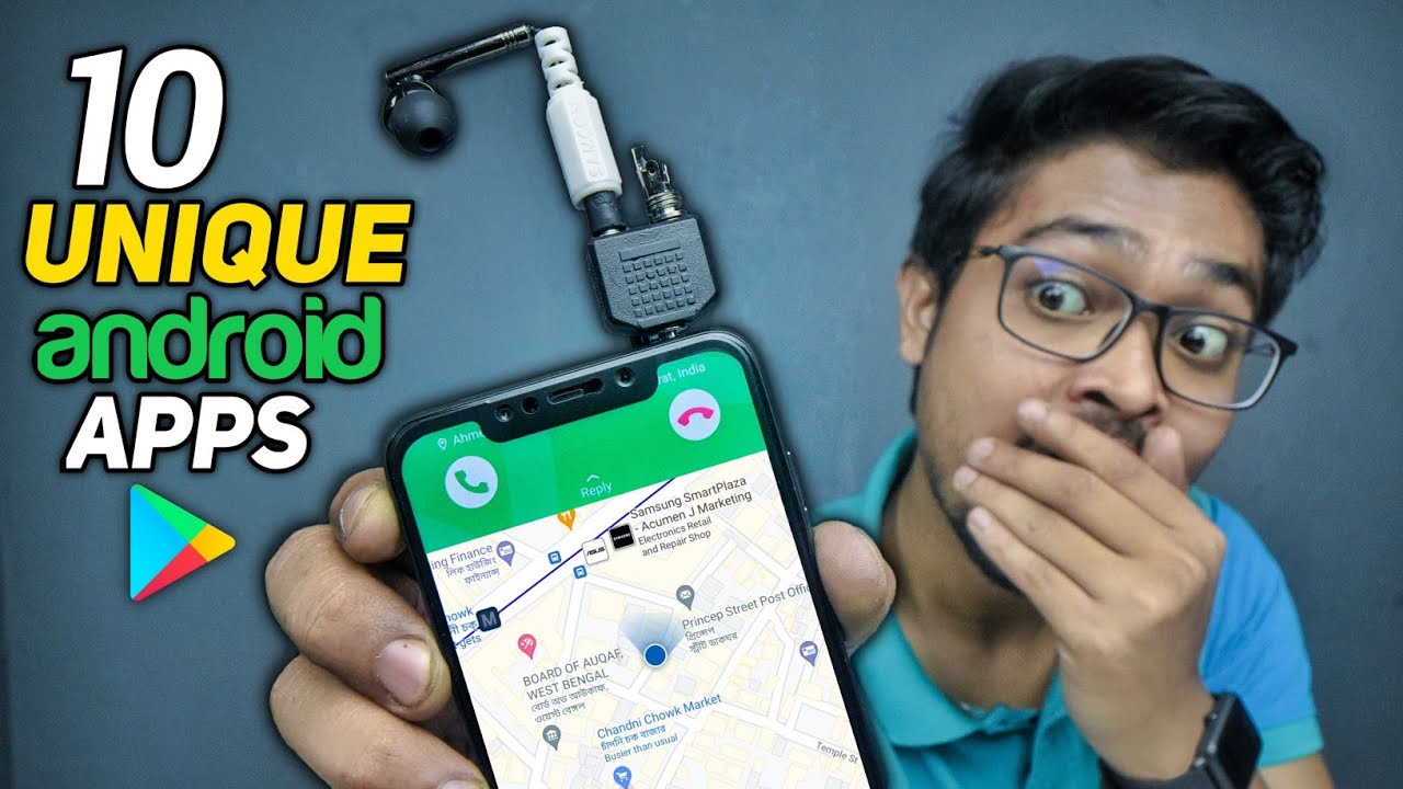 Download Top 10 Unique Android Apps Hidden in Playstore! 2021