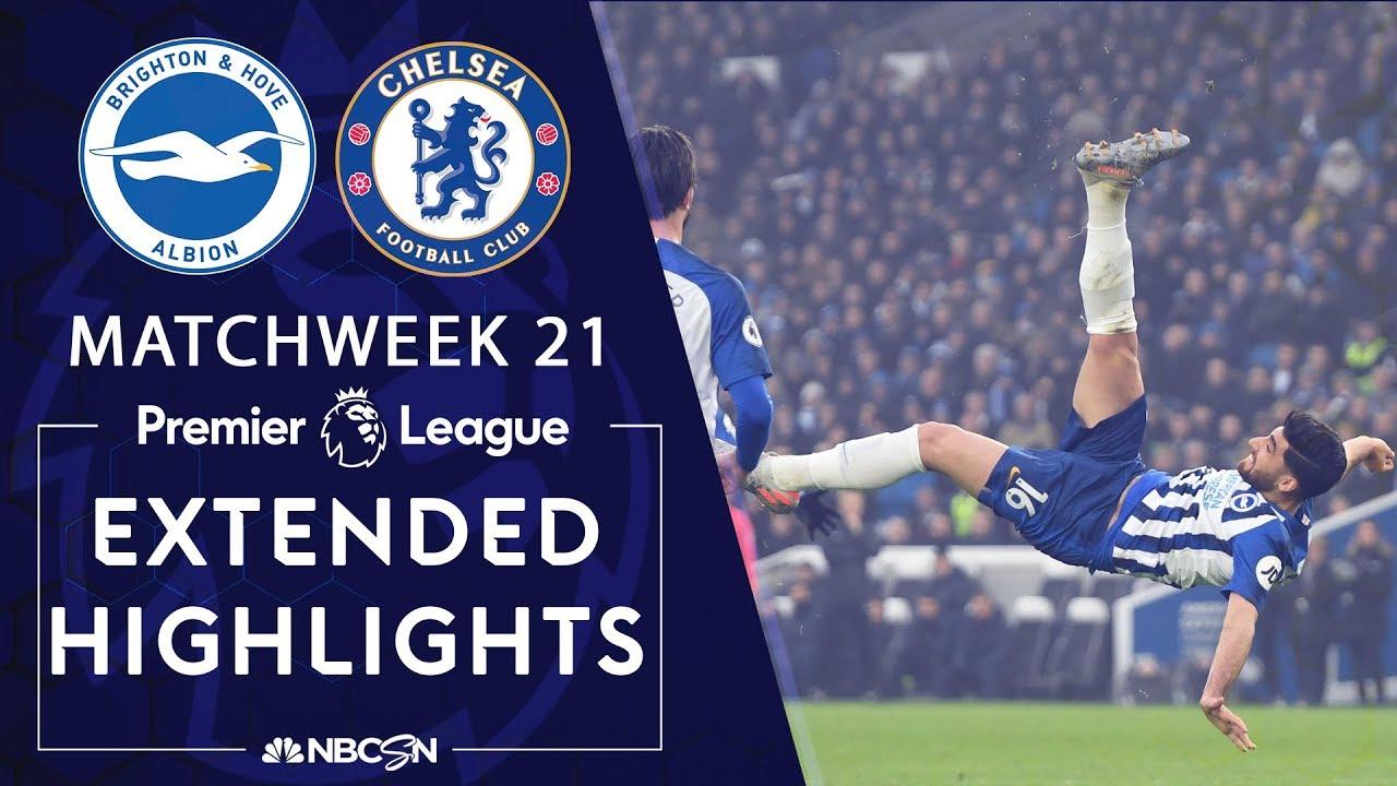 Brighton v. Chelsea   PREMIER LEAGUE HIGHLIGHTS   1/1/20   NBC Sports