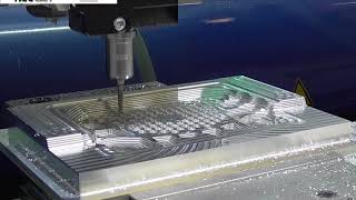 NCG CAM Software & Datron HSM Machine Tool Live Machining