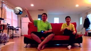 Playroom with Playstation Camera on PS4