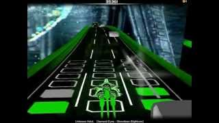 Audiosurf: Nightcore - Diamond Eyes [Shinedown] (HD)