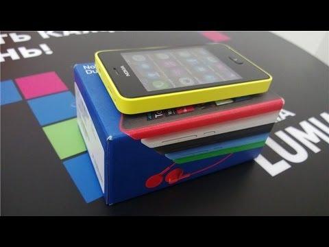 Nokia Asha 501 Dual Sim. Обзор / от Арстайл /