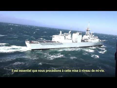 Le projet de modernisation des navires de la classe Halifax