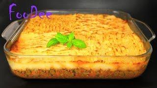 Вкуснейшее горячее блюдо для всей семьи! ☆ Пастуший пирог