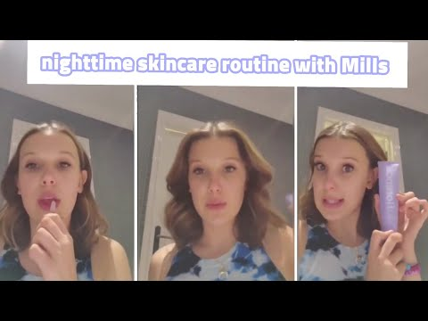 Millie Bobby Brown Applies Nothing to Her Face in a New Florence by Mills Video, Baffling the Internet