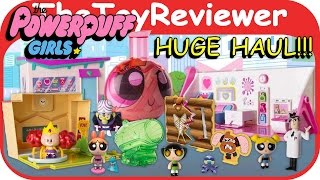 """HUGE NEW Powerpuff Girls Toy Haul 2"""" Toys from Spin Master! Unboxing Toy Review by TheToyReviewer"""