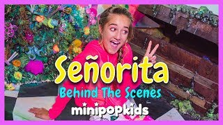 Señorita Music Video - Behind The Scenes  Mini Pop Kids Bts