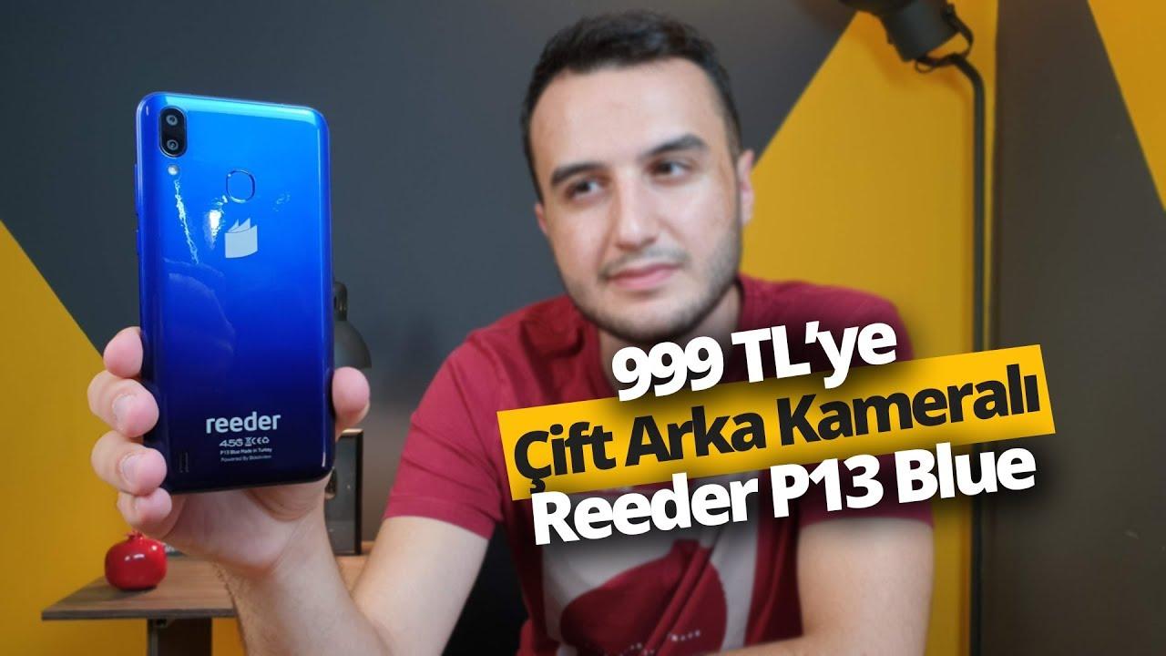 Download 999 TL'lik Reeder P13 Blue inceleme! Bu fiyata neler sunuyor?
