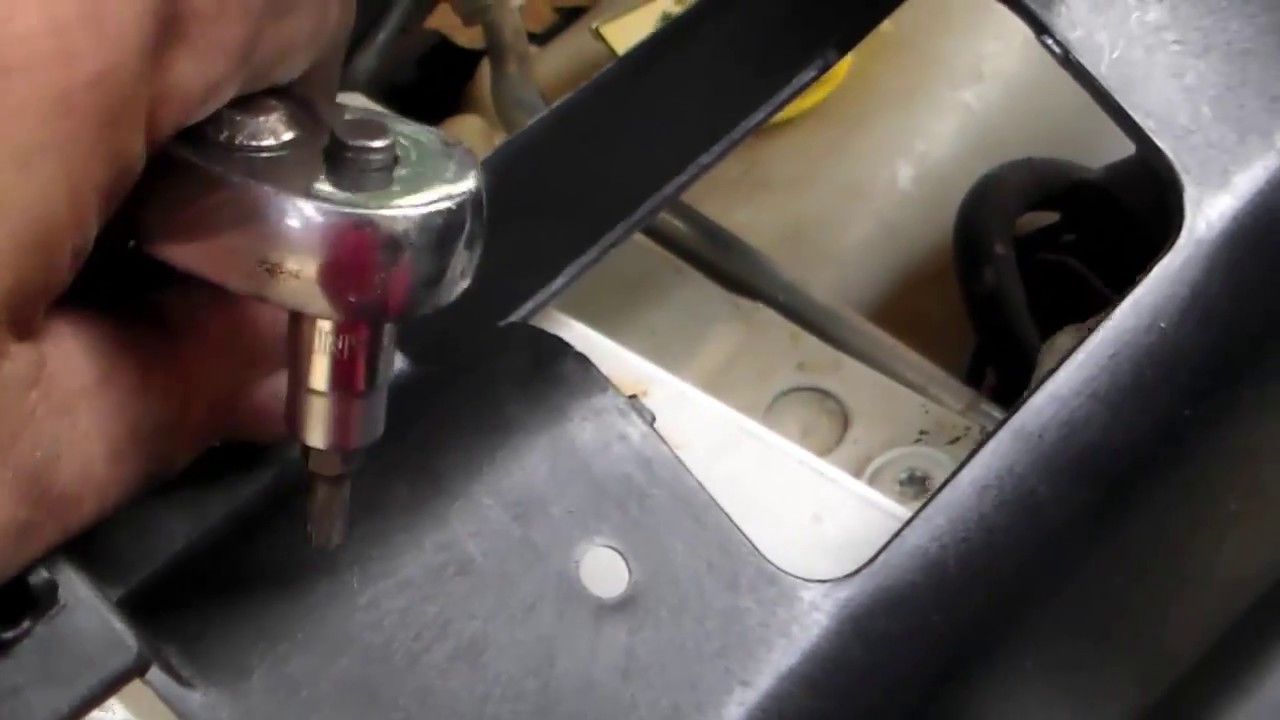 how to replace header panel and head lights on a 1993-1998 jeep