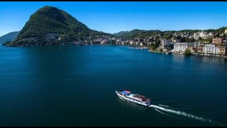 In Moto...sul Lago di Lugano (On the Motorcycle...around Lugano Lake) HD