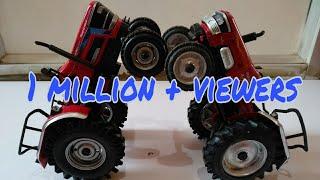 Mahindra Arjun 605 Di Tractor Scale Model
