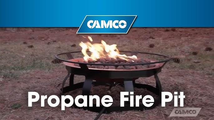 Propane Patio Fire Pit Youtube