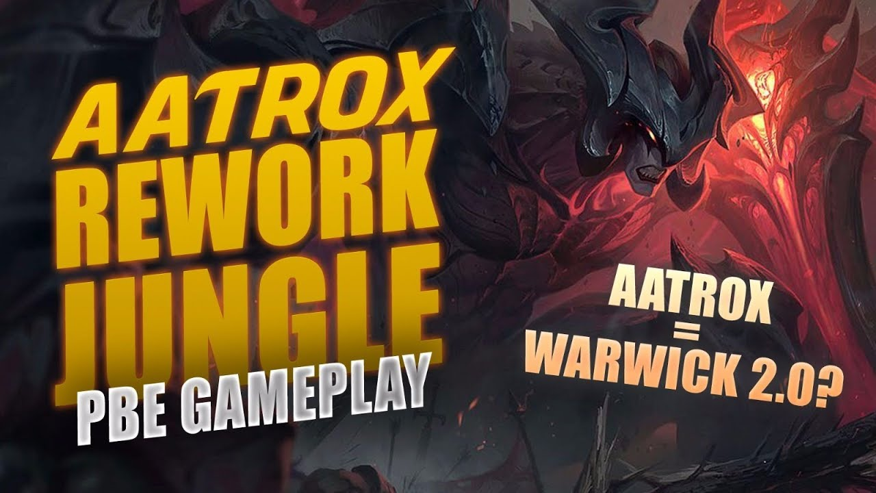 how to build aatrox jungle