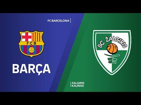 FC Barcelona - Zalgiris Kaunas Highlights | Turkish Airlines EuroLeague, RS Round 25