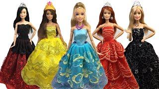 Barbie Prenses Kıyafetleri Açılımı - Türkçe Barbie Videoları