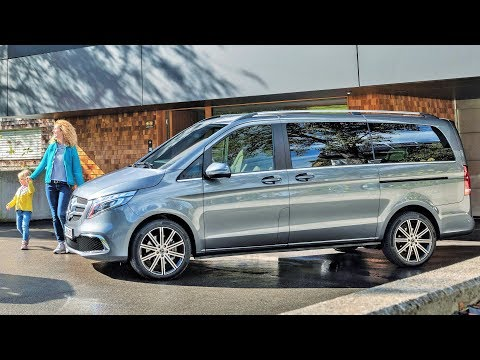 2019 mercedes v class new design and even greater comfort youtube 2019 mercedes v class new design and
