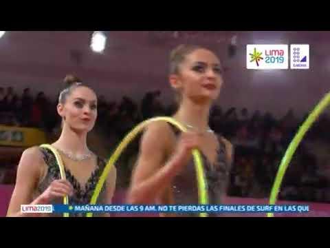 Final Gimnasia Rítmica Por Equipos. Juegos Panamericanos Lima 2019