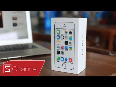 Schannel - Mở hộp iPhone 5s chính hãng FPT - CellphoneS