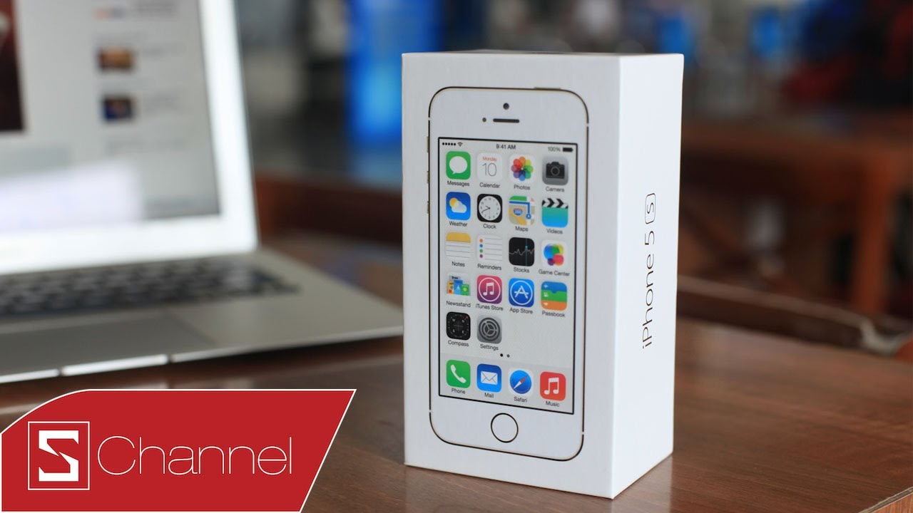 Schannel – Mở hộp iPhone 5s chính hãng FPT – CellphoneS