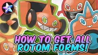 THE NEW ROTOM FORMS ARE AWESOME! - Roblox Pokemon Brick Bronze