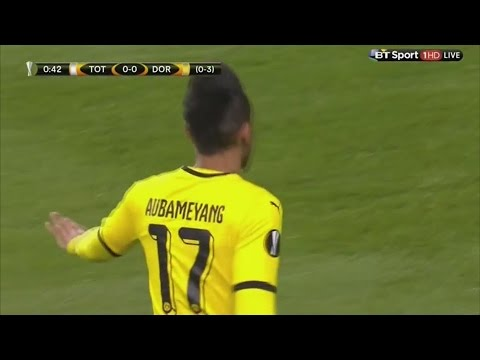 Pierre-Emerick Aubameyang vs. Tottenham Hotspur (Away) 17|03|2016