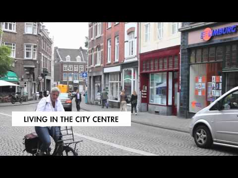 Living in the city centre of Maastricht