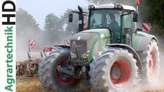 1000 HP | CLAAS XERION 5000 + FENDT Tractors | Maize seeding | Saat | AgrartechnikHD