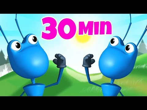 Ants Go Marching One By One Sing Along | Nursery Rhymes | Kids Songs To Dance To | Raggs TV