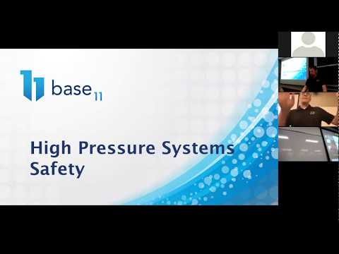Pressure System Safety (PART 1) For Base 11 Space Challenge