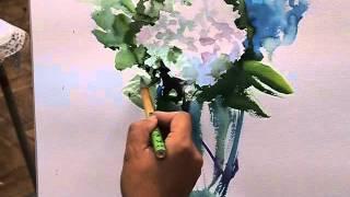 大友義博先生の紫陽花デモ