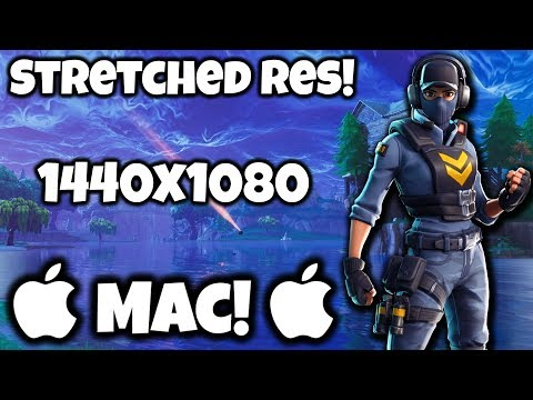 *April 2020* Fortnite Stretched Res on Mac!!